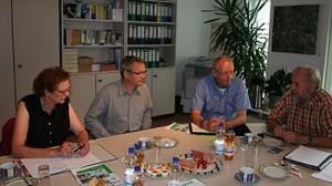 Claudia Diepenbrock, Thomas Gaube, Wolfgang Ladebeck, Helmut Pastrik (v. l.); Foto: dbb sachsen-anhalt